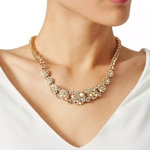 Kate Spade Delicate Pearl Gold Collar Necklace